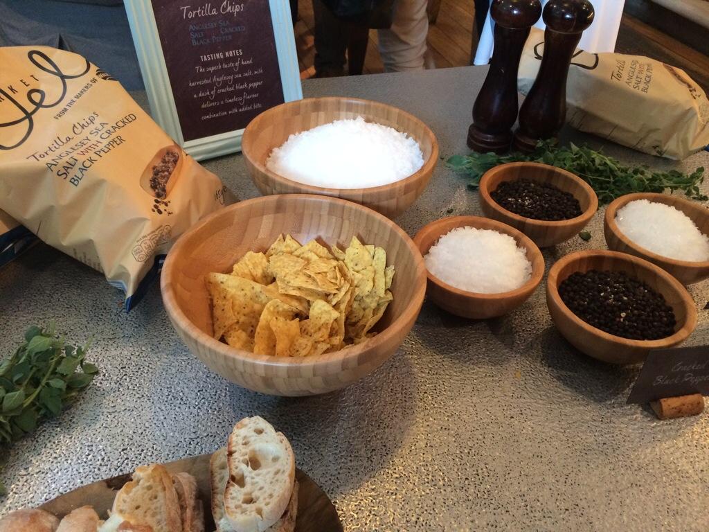Salt and pepper tortillas
