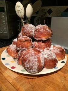 piles of doughnuts