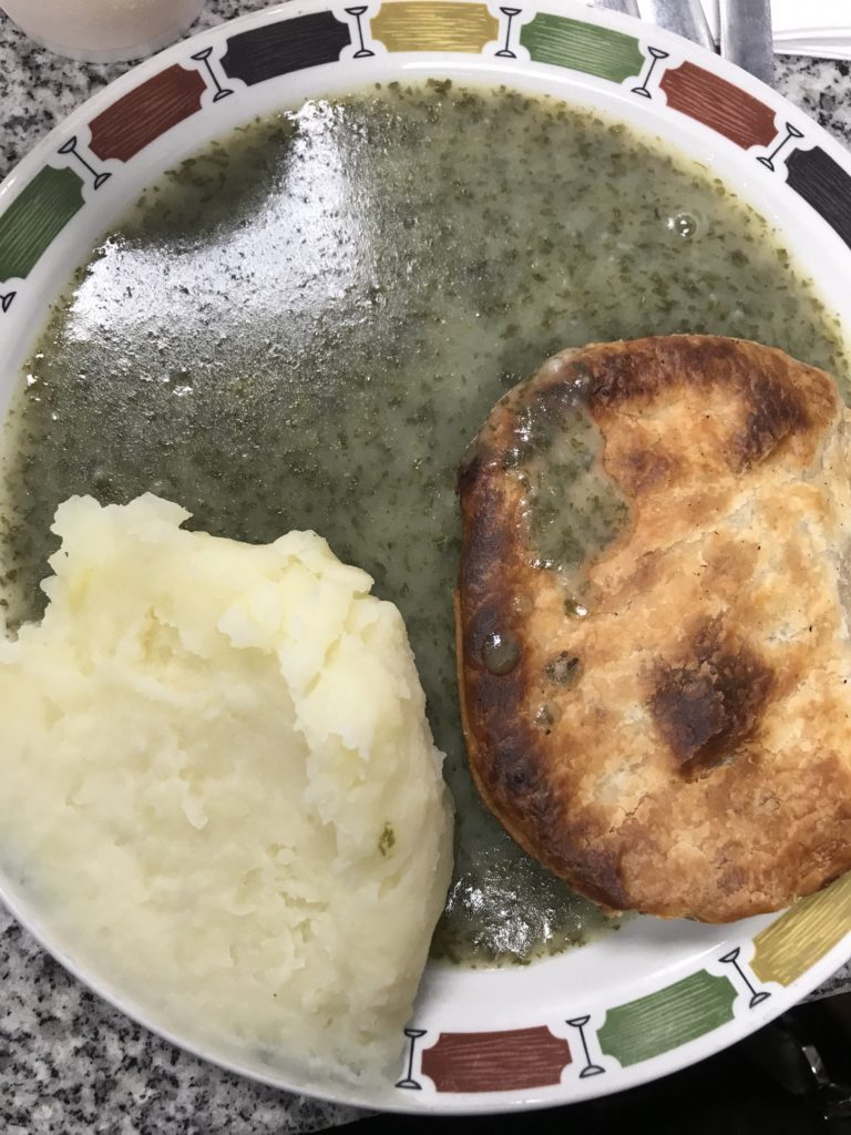 pie and mash