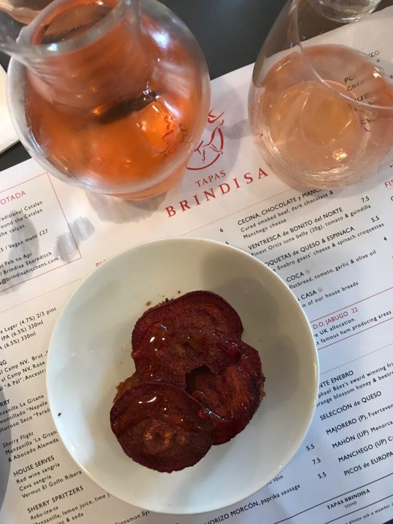 Brindisa wine and tapas