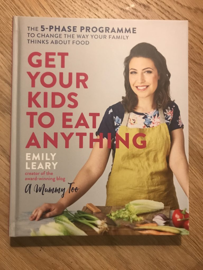 get your kids to eat anything book cover shot