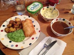 Homemade chippy spread