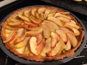 Cooked tart