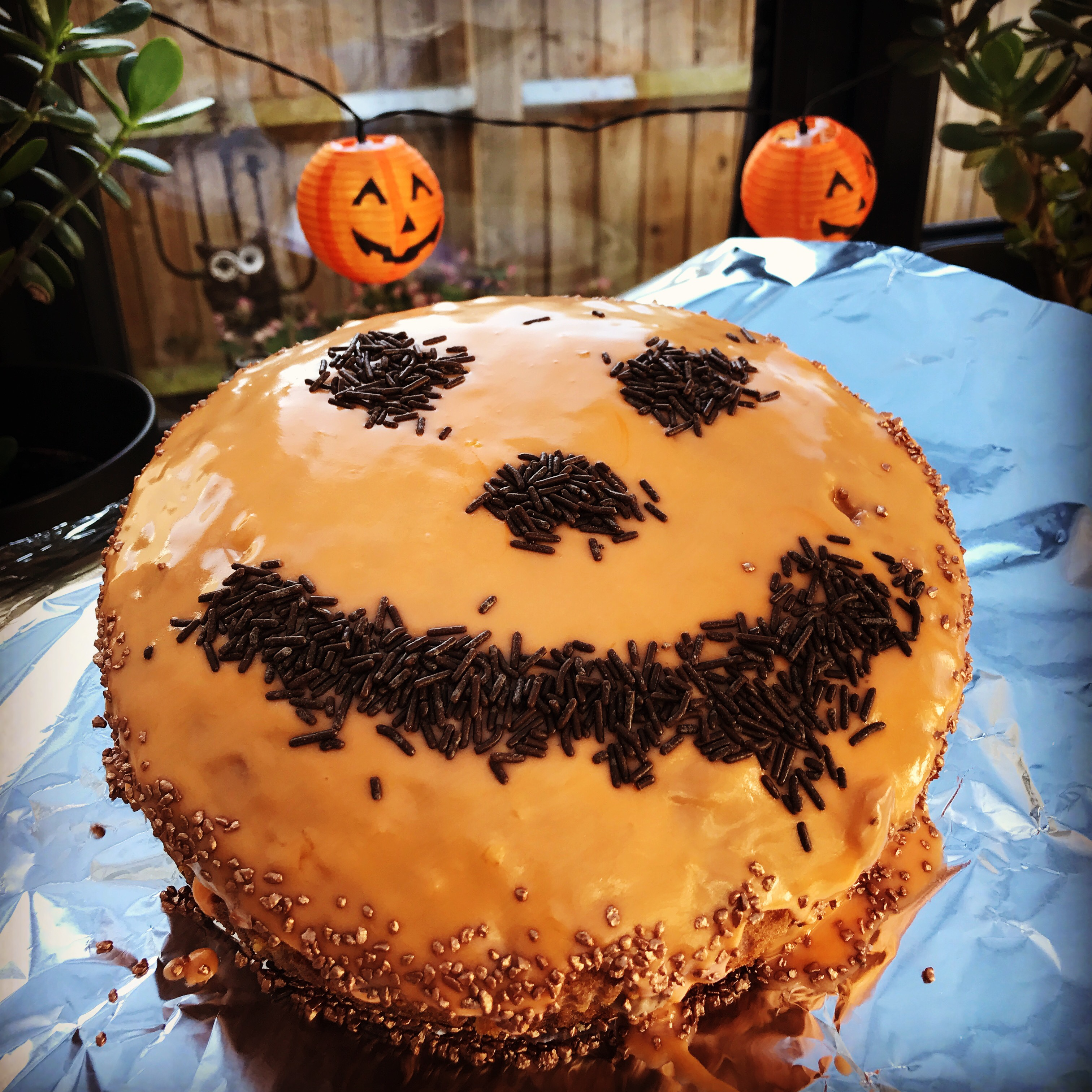 Tremendous Chocolate Orange Birthday Cake Recipe Perfect For Halloween Funny Birthday Cards Online Inifofree Goldxyz