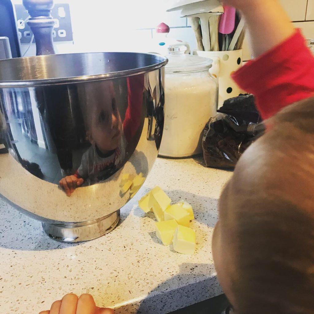 Ioan baking reflection