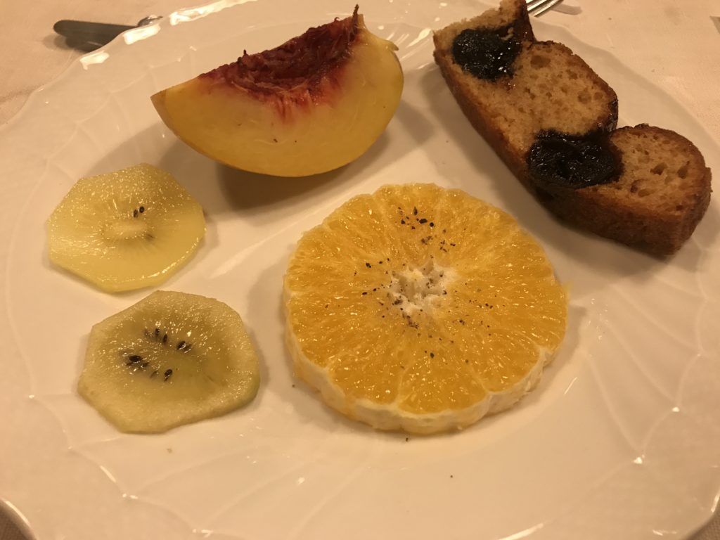 Tuscany: ravagni pudding