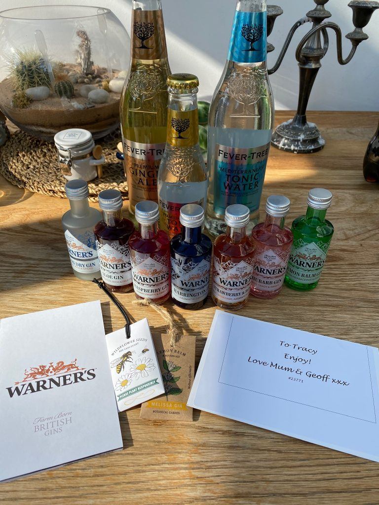 Warners gin gift