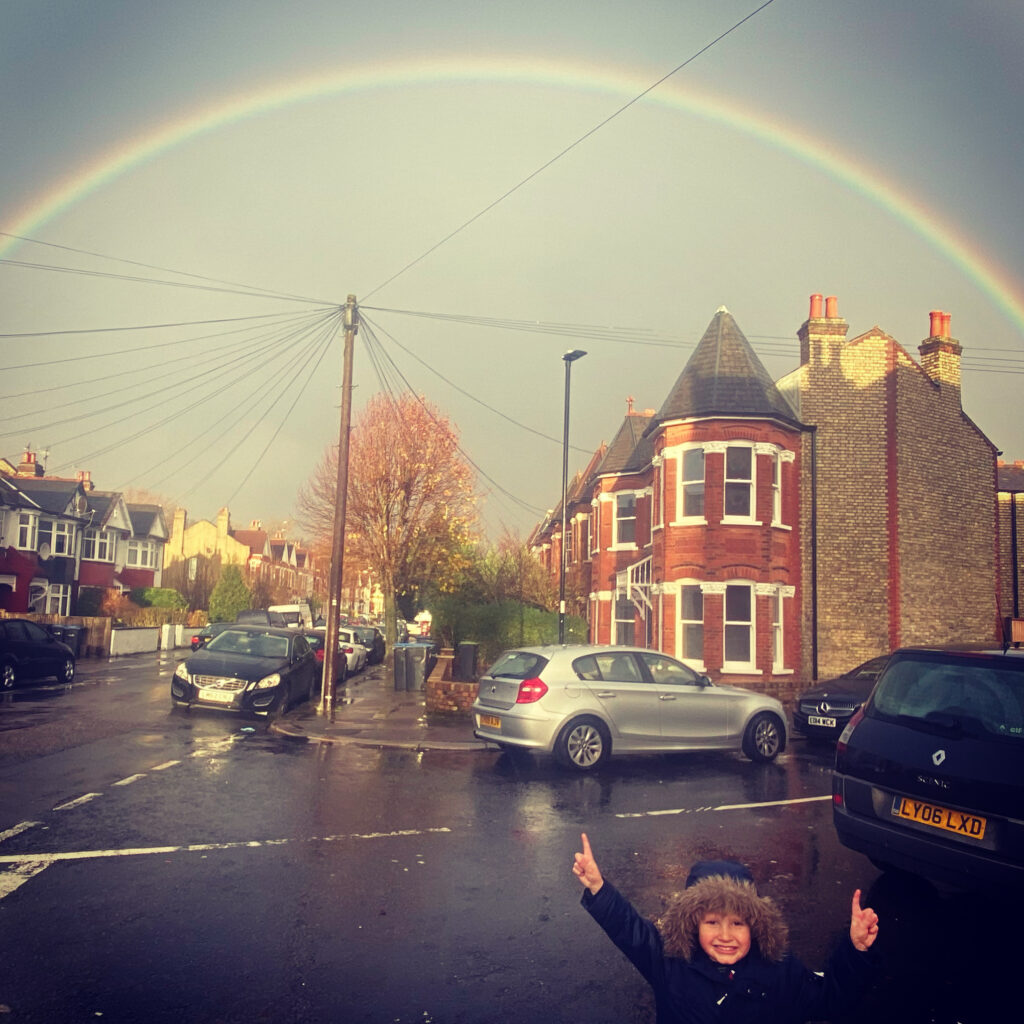 Rainbow over bounds green